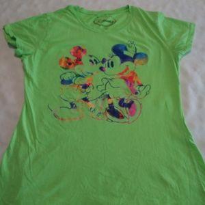 Disney Mickey & Minnie T-Shirt Womens XL